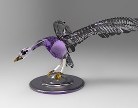 3D Goose bird