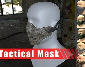 3D model Tactical Mask