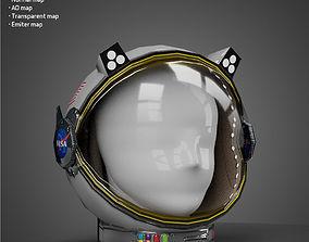 realtime Space Helmet - Low Poly model