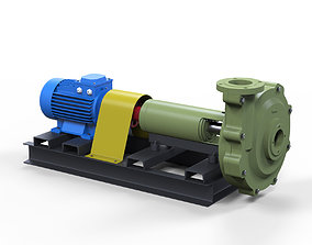 Pump centrifugal Psg 3D