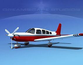Piper Cherokee Six 300 V15 3D model