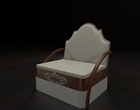 3D model Msk - Seat fin6