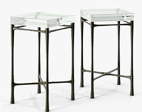 Holly Hunt Highline Drink Table 3D model
