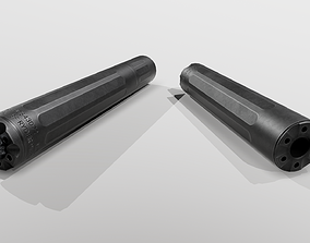 3D model Surefire Ryder 9M Ti Handgun Suppressor