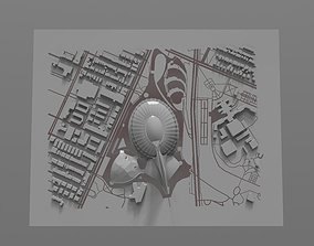 Montreal Olympic Stadium 3D model