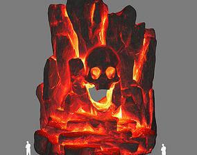 lava skull cave 3D model