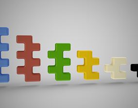 3D printable model Jigsaw Toy Blocks