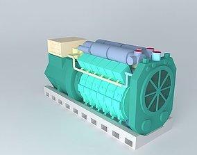 ARGO INDUSTRIES 12V Diesel generator 3D model
