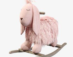 3D model Plush Rocking Bunny