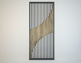3D model WALL PANELLING