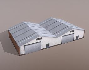 3D asset Airport Storages SKGY Storages3