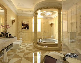 3D model bath Bathroom