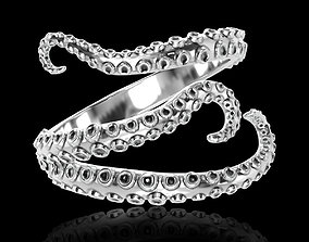 3D printable model Ring Tentacles