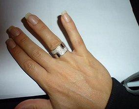 3D print model bague rings din vahn -CG29