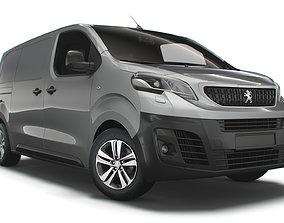 Peugeot Expert Standard UK spec Professional 2020 3D