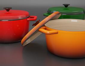 3D model Casserole dish