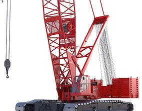 3D model Crawler Crane Manitowoc 16000