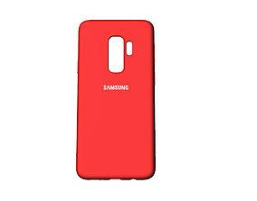 3D print model Samsung Galaxy S9 Plus red case