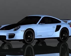 3D asset Porsche 911 GT 2