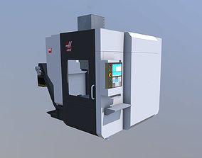 3D model Milling mashine haas 750