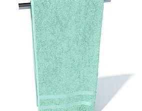 Bathroom Hand Towel 3D