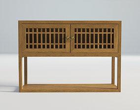 Vintage Openwork Cupboard 3D model