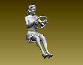 driver 3D printable model