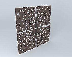 3D model Wall frieze Maisons du monde