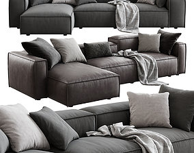 3D model DallAgnese Comfort Corner Sofa