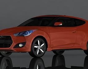 3D asset game-ready Hyundai Veloster