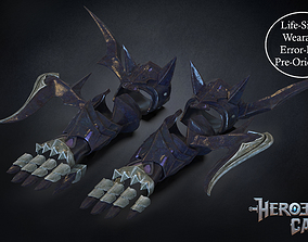 3D print model Final Fantasy XIV - Drachen Armor - Arm