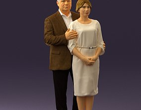 3D printable model Man and woman together 0562