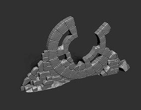 Ancient Stone Structure - Portal Gate 3D printable model