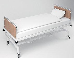 Simple Hospital Bed 3D asset VR / AR ready