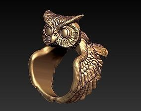 OWL ring 3D printable model