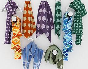 scarves 3D model