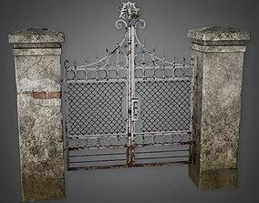Outdoor Gate 02 GFS - PBR Game Ready 3D asset