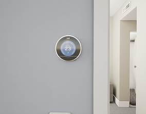 3D model Nest Thermostat