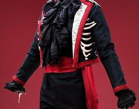3D asset Rib Jacket Costume