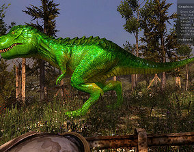 animated 3Dfoin - T-Rex