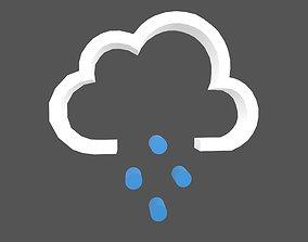 3D asset Weather Symbol v14 002