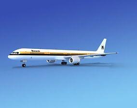3D Boeing 757-300 Monarch 1