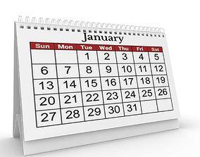 3D door Calendar