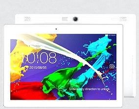 3D model Tablet Lenovo Tab 2 A10 White