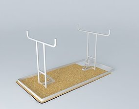 3D 5' Fold out portable table