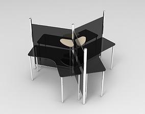3D print model Office Table 8