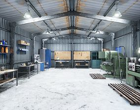 Workshop 3D asset