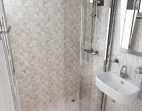 3D MY BATHROOM - PAROS tiles