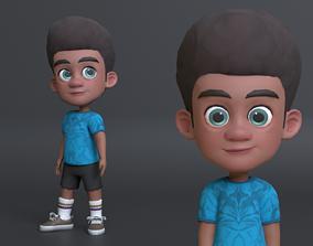 Hibo Cartoon Character 3D asset