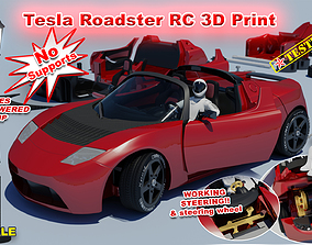 Tesla Roadster RC 3D printable model